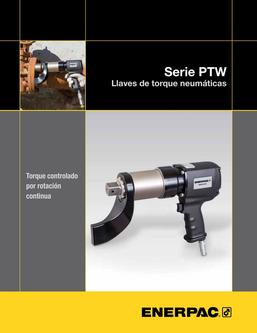 PTW-Series, Pneumatic Torque Wrenches (Technical) 2015 (Spanish LA)
