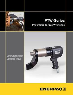 PTW-Series, Pneumatic Torque Wrenches (Technical) 2015 (US)