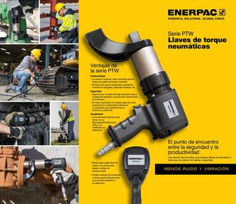 PTW-Series, Pneumatic Torque Wrenches (Commercial) 2015 (Spanish LA)