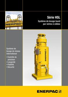 HSL-Series, Strand Jack System (Technical) 2015 (French)