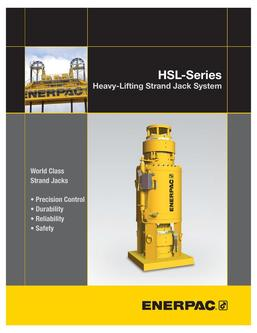 HSL-Series, Strand Jack System (Technical) 2015 (US)