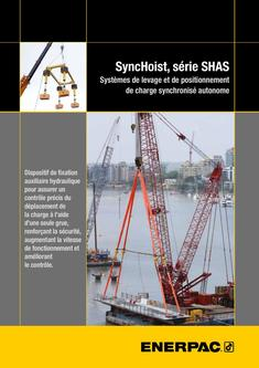 SHAS-Series, Autonomous SyncHoist System (Technical) 2015 (French)