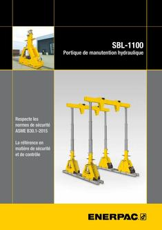 SBL-1100 Hydraulic Gantry 2015 (French)