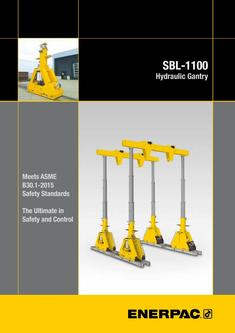 SBL-1100 Hydraulic Gantry 2015 (GB)