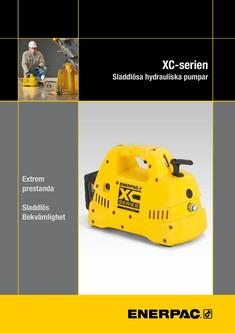 XC-Series, Cordless Hydraulic Pump 2016 (Svedish)