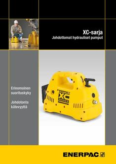 XC-Series, Cordless Hydraulic Pump 2016 (Finnish)