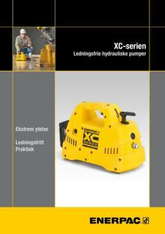 XC-Series, Cordless Hydraulic Pump 2016 (Norwegian)