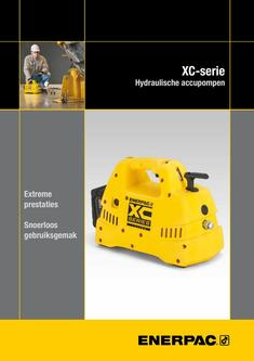 XC-Series, Cordless Hydraulic Pump 2016 (Dutch)