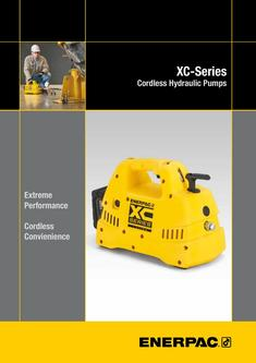 XC-Series, Cordless Hydraulic Pump 2016 (GB)