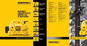 XC-Series, Cordless Hydraulic Pump Commercial Brochure 2016 (Brazilian)