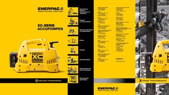 XC-Series, Cordless Hydraulic Pump Commercial Brochure 2016 (Dutch)