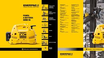 XC-Series, Cordless Hydraulic Pump Commercial Brochure 2016 (Italian)
