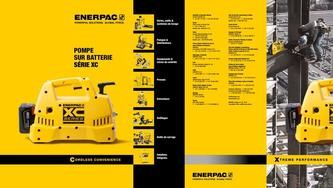 XC-Series, Cordless Hydraulic Pump Commercial Brochure 2016 (French)