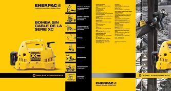 XC-Series, Cordless Hydraulic Pump Commercial Brochure 2016 (Spanish LA)