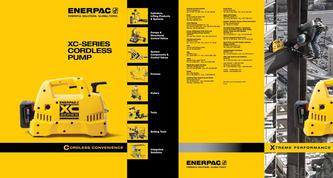 XC-Series, Cordless Hydraulic Pump Commercial Brochure 2016 (US)