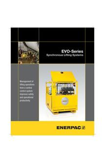 EVO-Series, Synchronous Lifting Systems (Standard and Basic) 2016 (US)