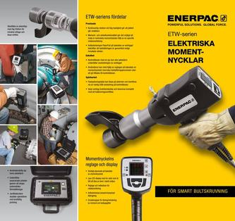 ETW-Series, Electric Torque Wrenches (Commercial) 2016 (Swedish)