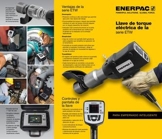 ETW-Series, Electric Torque Wrenches (Commercial) 2016 (Spanish LA)