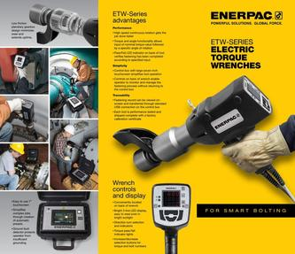 ETW-Series, Electric Torque Wrenches (Commercial) 2016 (US)