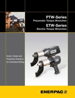 PTW-, ETW-Series, Torque Wrenches (Technical) 2016 (US)