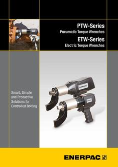PTW-, ETW-Series, Torque Wrenches (Technical) 2016 (GB)