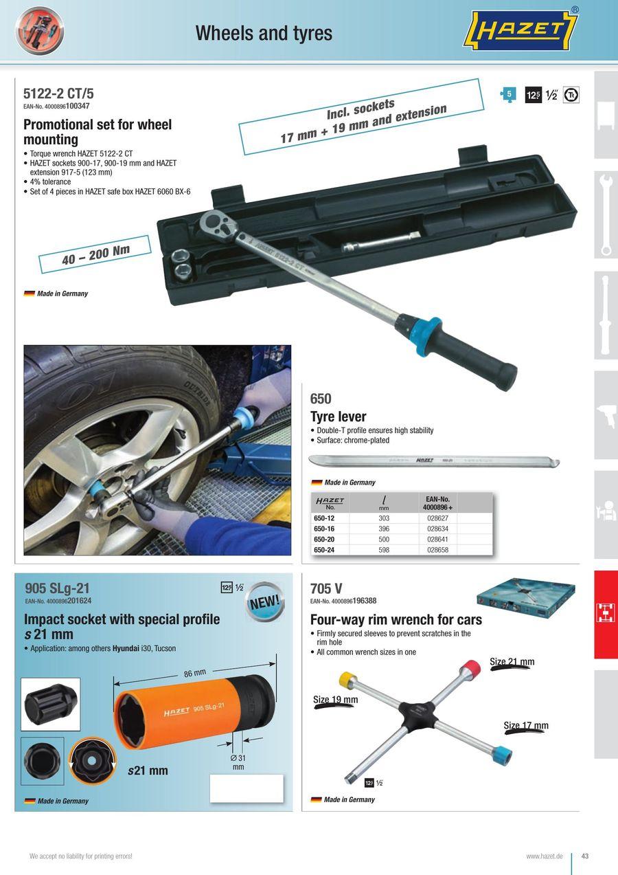 HAZET 6060BX-6 Safe-Box
