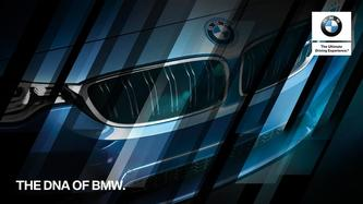 The DNA of BMW 2017