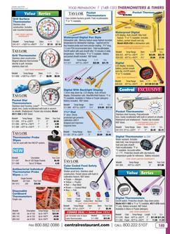 Thermometers & Timers 2016