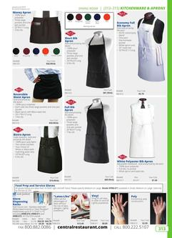 Kitchenware & Aprons 2019