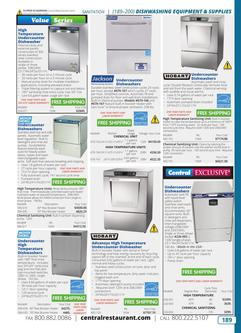 Dishwashing Equipment & Supplies 2019