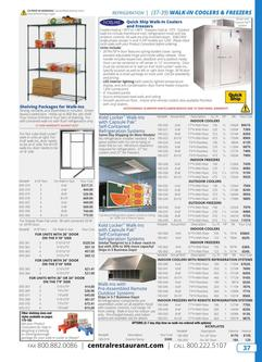 Walk-in Coolers & Freezers 2019