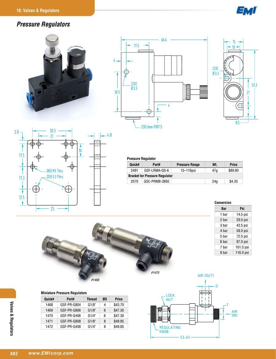 Valves Regulators 2016 By Emi Corporation I M506 Wiring Diagram