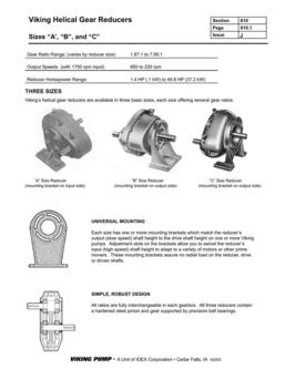 Viking Helical Reducers 2016