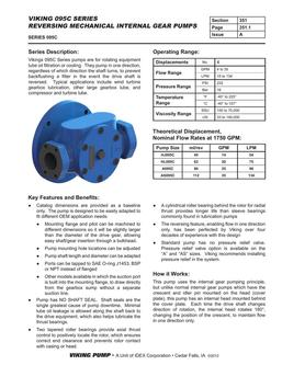 Series 095C Reversing Mechanical Pump 2016