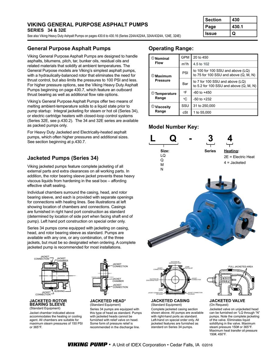 Viking Pump Wiring Diagram Illustration Of Series 34 434 32e 2016 By Pumps Rh Who Sells It Com Pool Connections
