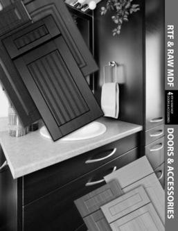 RTF & Raw MDF Doors & Accessories 2016