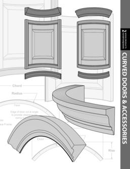 Curved Cabinet Doors & Components 2016
