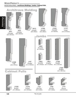 Wood Moldings - Architrave & Jambs & Cabinet Pulls 2017