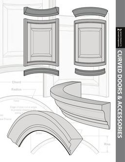 Curved Cabinet Doors & Components 2017