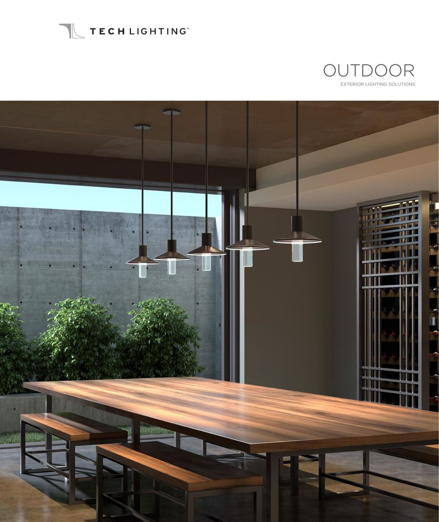 2018 Tech Lighting Outdoor Catalog By