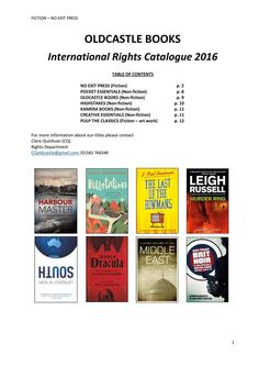 Rights Catalogue April 2016
