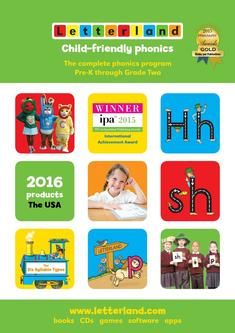 Letterland Catalogue 2016 (USA)