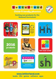 Letterland Catalogue 2016 (UK)