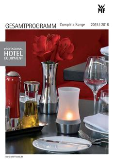 Professional Hotel Equipment 2016/2016