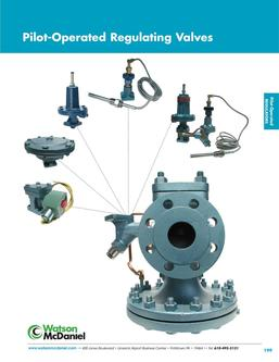 Pilot-Operated Regulating Valves 2016