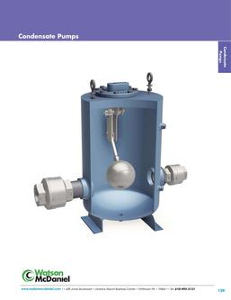 Condensate Return Pumps 2016
