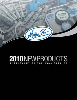 2010 Motion Pro Supplement Catalog
