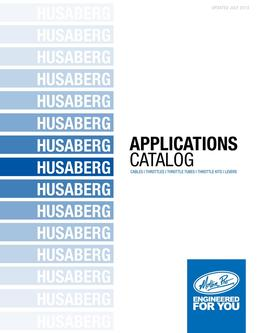 Husaberg Applications 2013