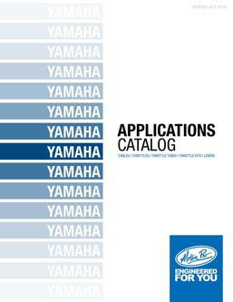 Yamaha Applications 2013