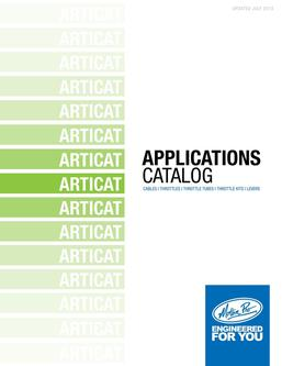 Arctic Cat Applications 2013